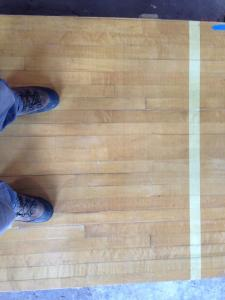 Gonzaga's Old Basketball Court, or Our Flooring in 2014