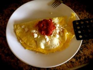 Free-range omelet